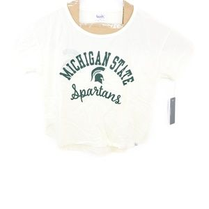 Tops - Michigan State Spartans Touch by Alyssa Milano S